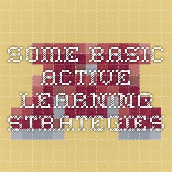 Some Basic Active Learning Strategies