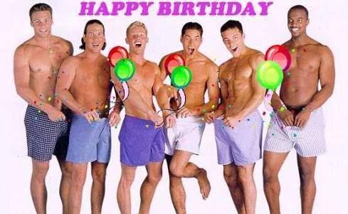 Resultado de imagem para feliz aniversario gay – Gay Happy Birthday Card
