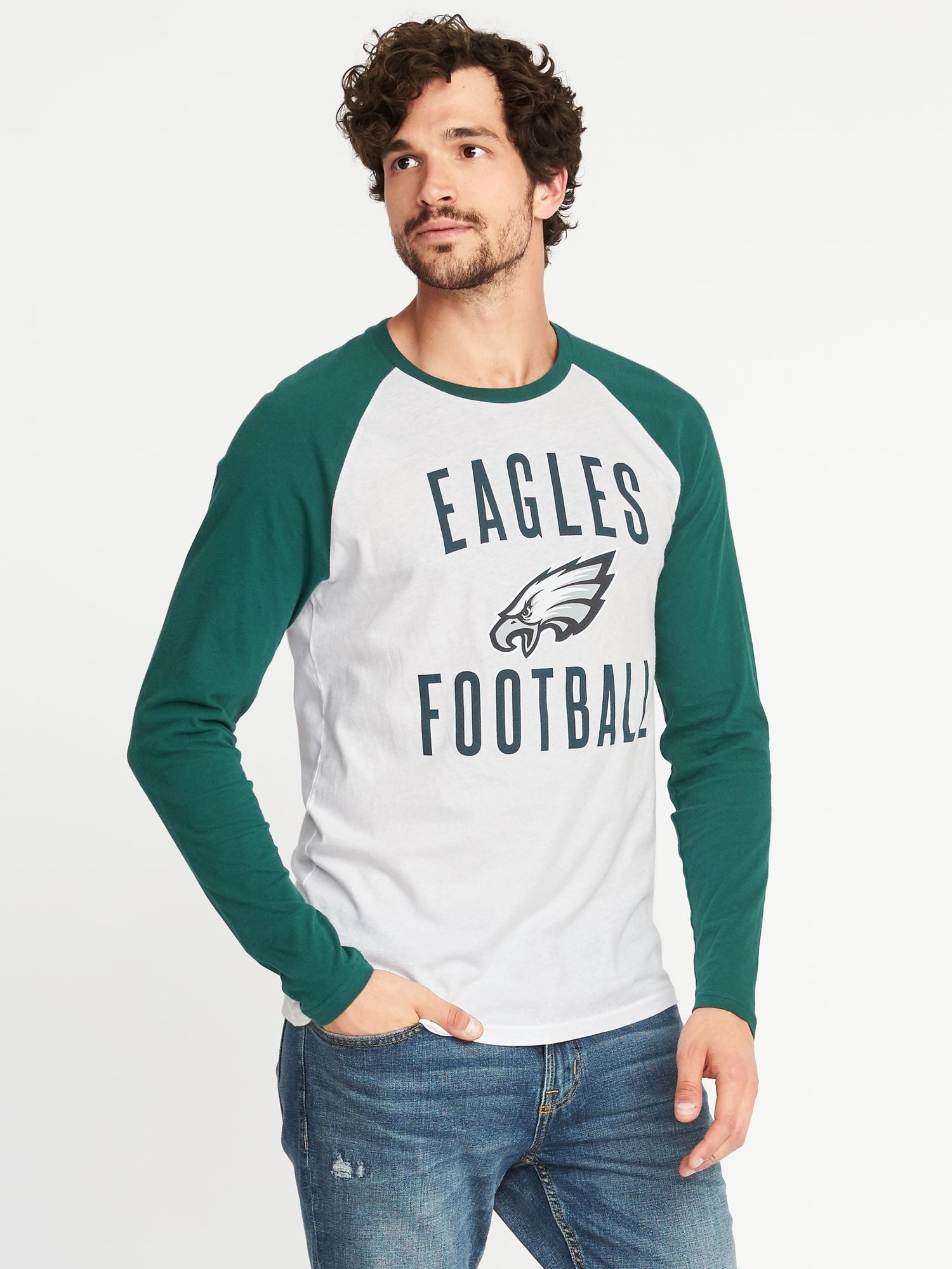 f30ca3a73 NFL® Team Raglan-Sleeve Tee for Men | Old Navy | Fall/Winter 2017 ...
