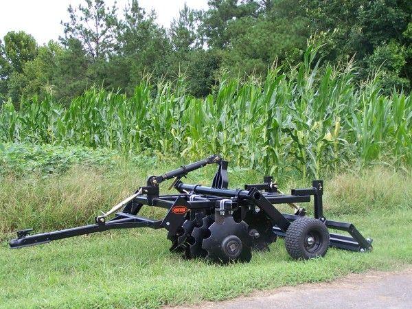 atv disc harrow with clod buster | landscaping | Farm ...