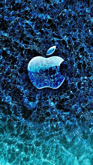 Manzana Azul Fondos De Pantalla Hd Para Iphone Fondo De
