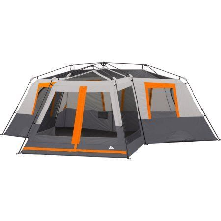 Ozark Trail 12-Person 3 Room Instant Cabin Tent with Screen Room Image 2 of 20 | Top backpack tents | Pinterest | Cabin tent Ozark trail and Tents  sc 1 st  Pinterest & Ozark Trail 12-Person 3 Room Instant Cabin Tent with Screen Room ...