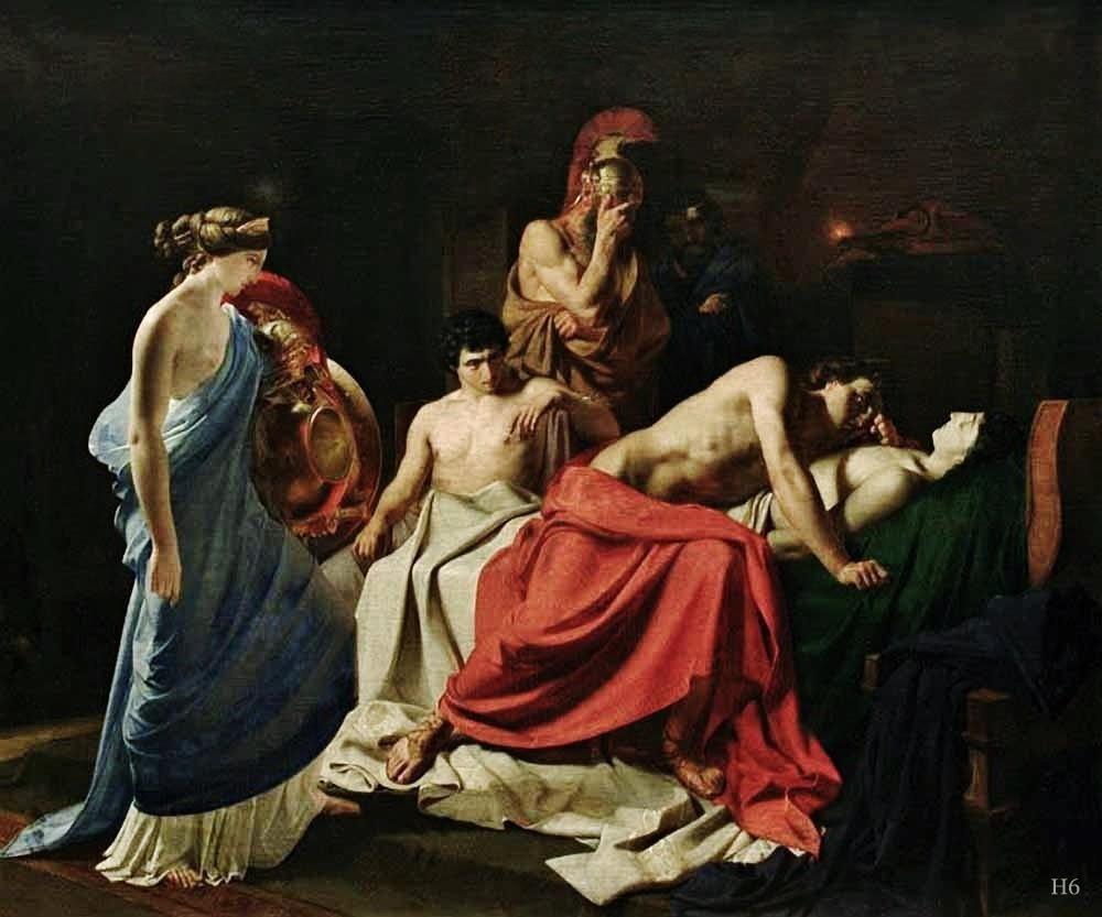Quest For Beauty In 2020 Achilles And Patroclus Ancient Greece Art Achilles