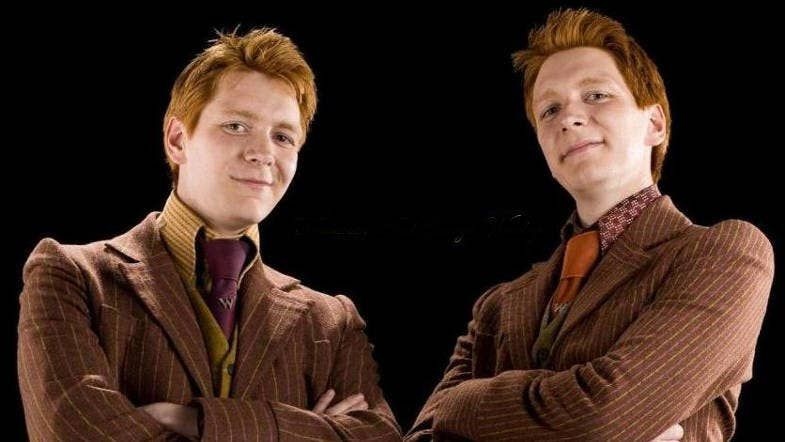 37 Facts You Never Knew About Harry Potter Harry Potter Zwillinge Oliver Phelps Weasley Zwillinge