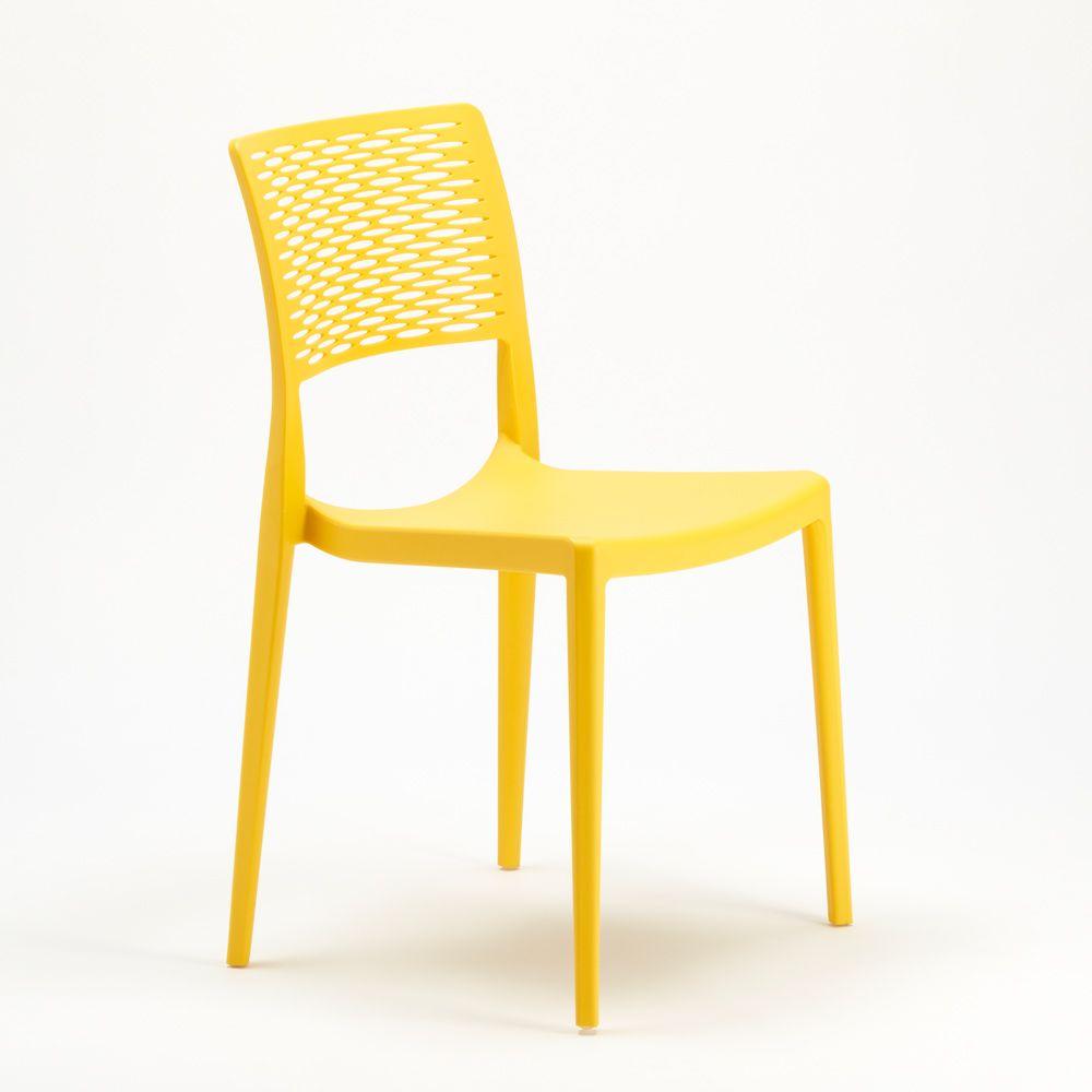 Sedie In Polipropilene Colorate.Sedie Da Bar In Polipropilene Per Cucina E Giardino Impilabile