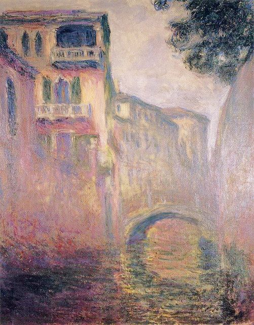 via 1908 Monet The Rio della Salute (private...