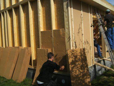 Réglementation thermique 2012 pour construction maison bois 20sqm