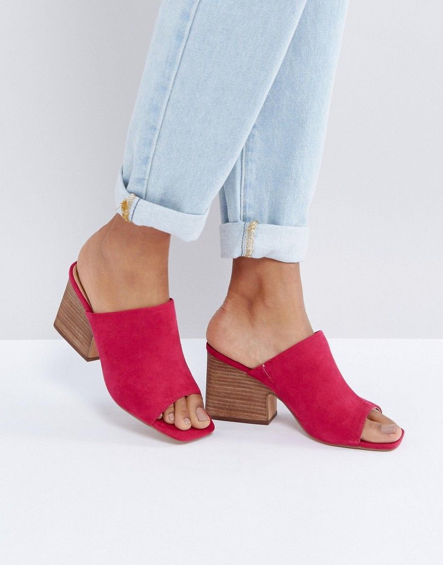 ASOS TICKLISH Mule Sandals - Pink