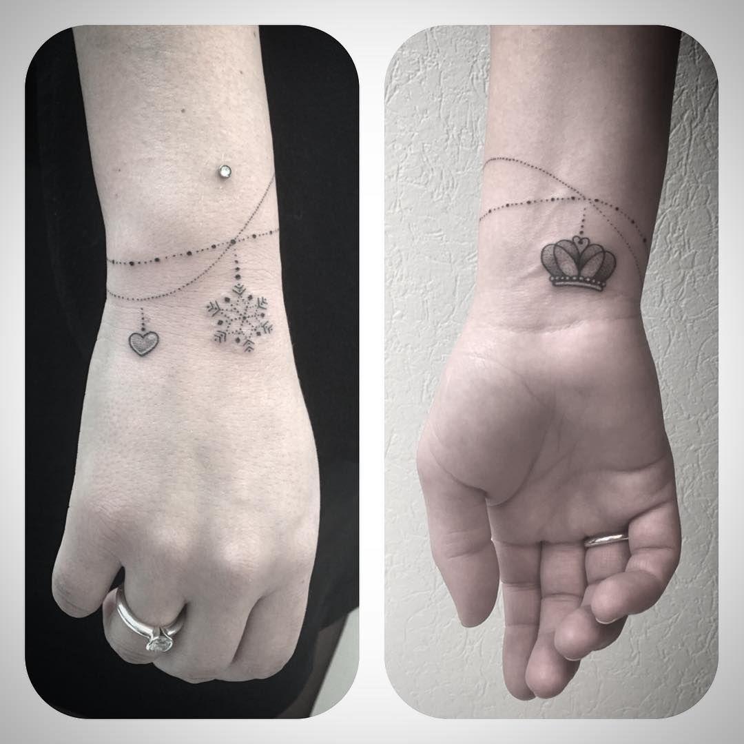 Bracelet tattoo tattoocrush pinterest
