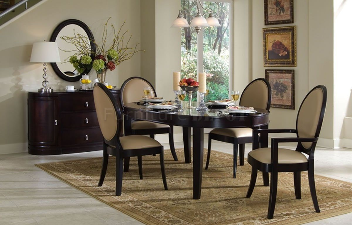 20 Great Contemporary Dining Rooms With Combination Of Light Wood Unique Oval Dining Room Table Set 2018