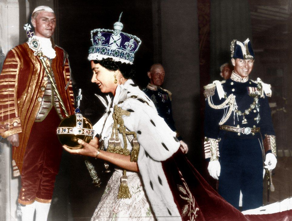 Four Generations Of Monarchy Gather To Celebrate 60 Years Since The Queen S Coronation Plus A Lollipop Lady In A Fluorescent Jacket Queen S Coronation Queen Elizabeth Elizabeth Ii