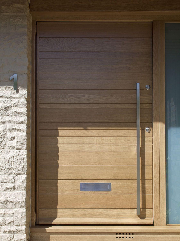 Puerta exterior puertas pinterest puertas ventanas for Puertas de entrada de casas modernas