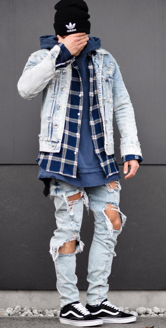 vans vestiti uomo