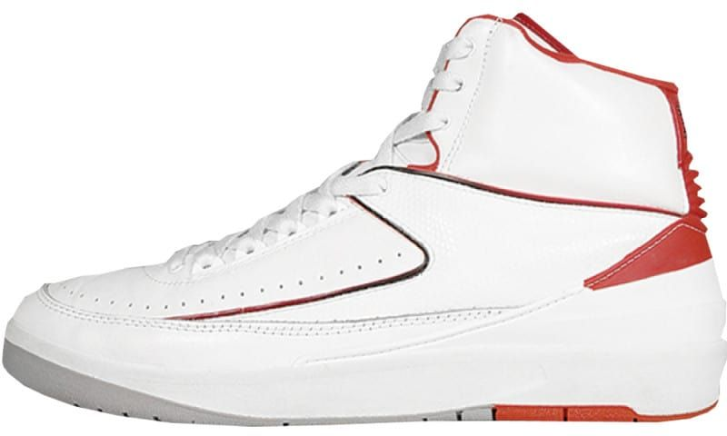 the best attitude a46be dd866 Air Jordan 2 Low White Red | Michael Jordan wit the tennis ...
