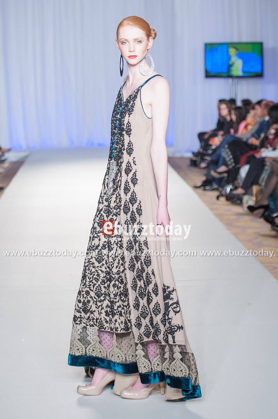 Pakistan Fashion Week, Instagram: CharBrookeModel