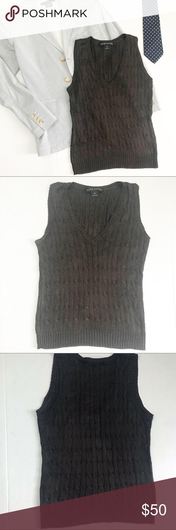 1b267c6335d418 Ralph Lauren Black Label Silk Vest -Ralph Lauren Black Label. -100% silk