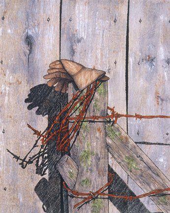 Mending Fences by Vita Marie Lovett Quilts - Western Pinterest