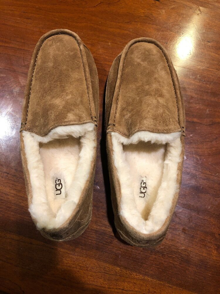 e0148bf2c80 Ugg Mens Moccasin Slippers Size 9 #fashion #clothing #shoes ...
