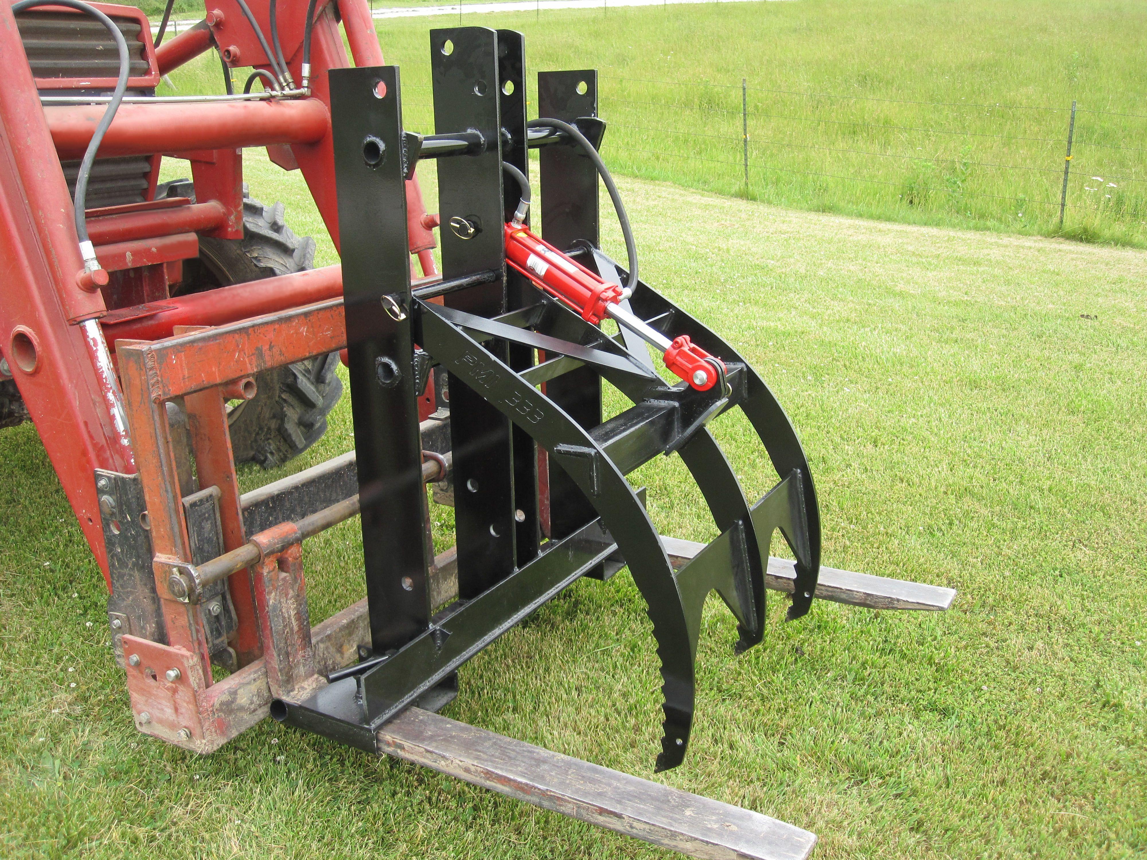 Model 339s27 Adjustable Height Pallet Fork Grapple Tractors Solar Power Diy Tractor Idea