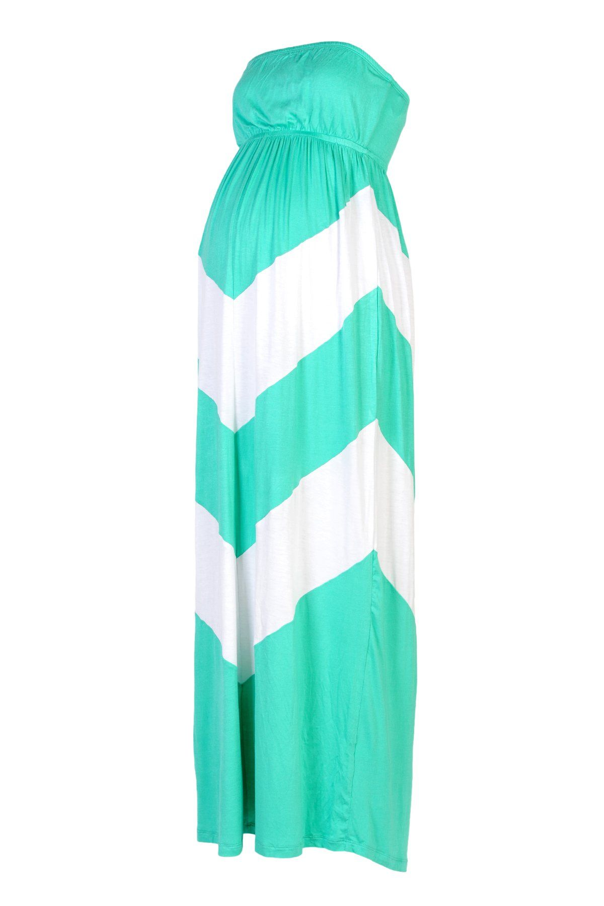 Chevron Maternity Maxi Dresses