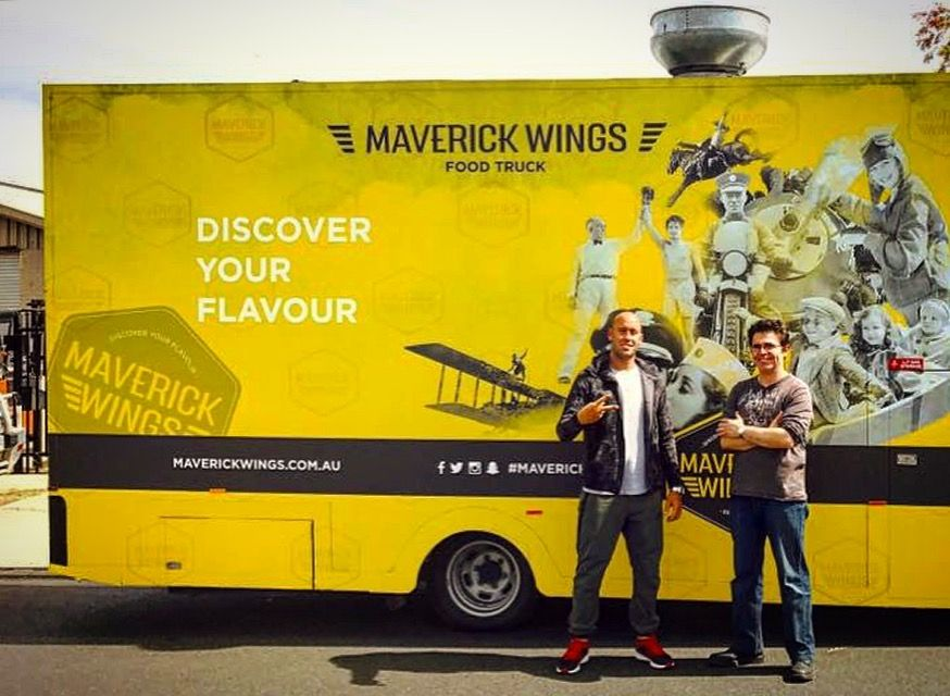 Maverick Wings Food Truck Says If Youre Searching Sydney For