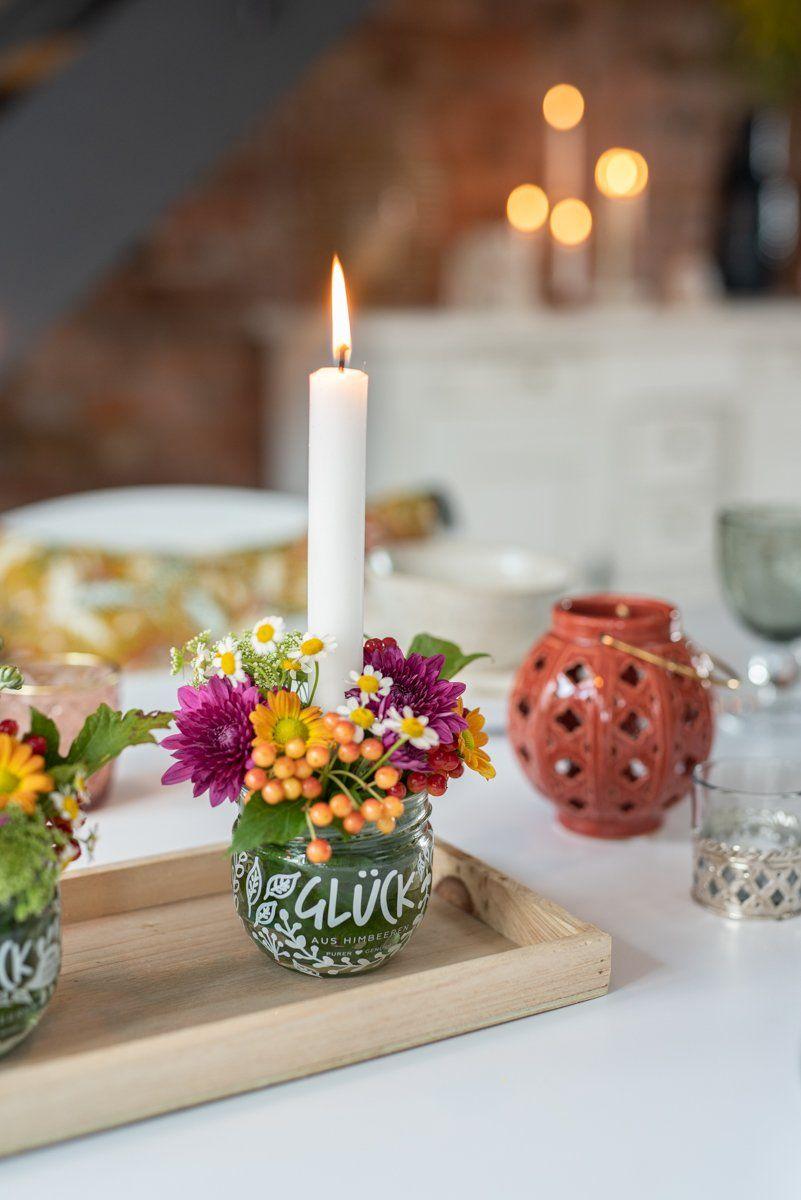 DIY – Blumengestecke im Glas – Leelah Loves