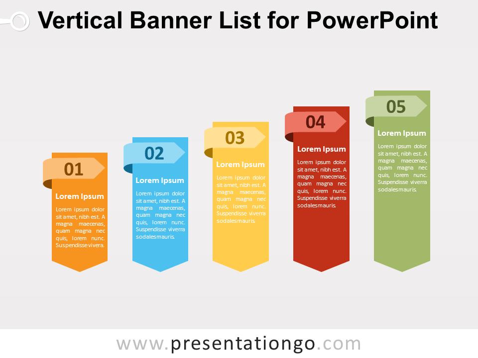 Vertical banner list for powerpoint presentationgo banners free vertical banner list for powerpoint fandeluxe Gallery