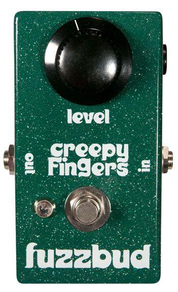 Creepy Fingers Effects Fuzzbud #6stringsboutique guitar pedals