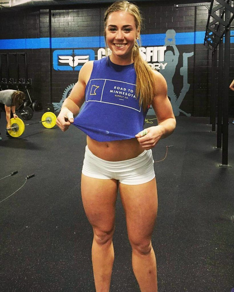 Brooke Wells White Shorts Brooke Wells