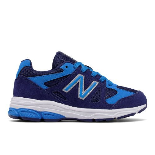 New Balance 888 Kids Grade School Running Shoes - Navy/Blue (KJ888DDG)