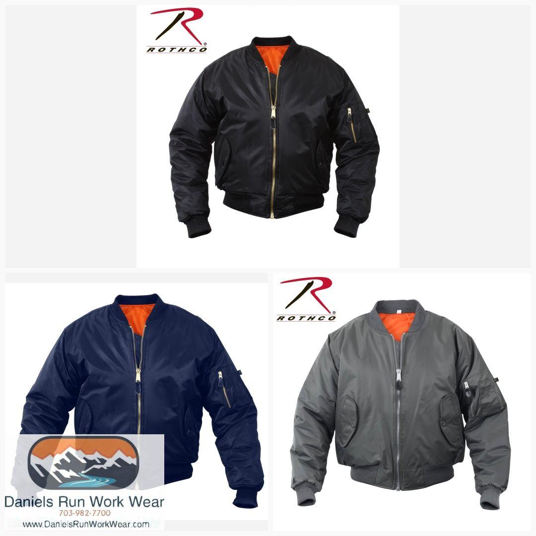 Rothco Ma 1 Flight Jacket Item 7324 Smokinjimwesternwear Logocoatsandshirts Steeltoeworkboots Ladiesmotorcycleboots Mo Flight Jacket Jackets Western Wear [ 1080 x 1080 Pixel ]