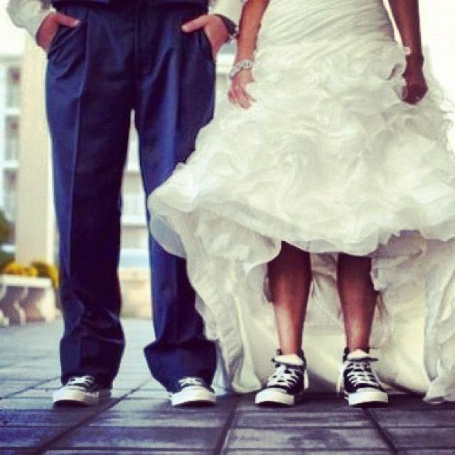 a48cc3e4d9fd I WILL be wearing converse on my wedding day.