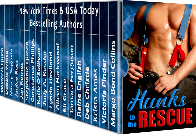 HUNKSTO THE RESCUE: 18 Hot Contemporary Romance Novellas Who hasn't fantasized about being rescued by a red-hot hunk? Indulge those fantasies with this box set of alpha rescuers who have a delicious talent for romance. 18 stand-alone novellas from New York Times and USA Today bestselling, and award-winning authors will steam up your nights and …