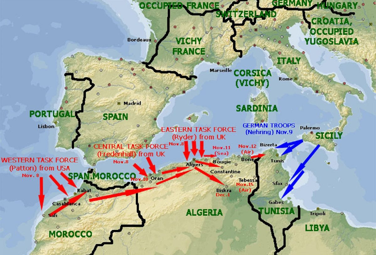 WWII North African Front   German   Operation Torch | DadBig