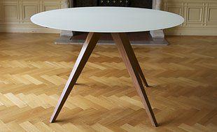 Hay Copenhague Tafel : Ronde design tafel creatie van tendeloo verkrijgbaar in de