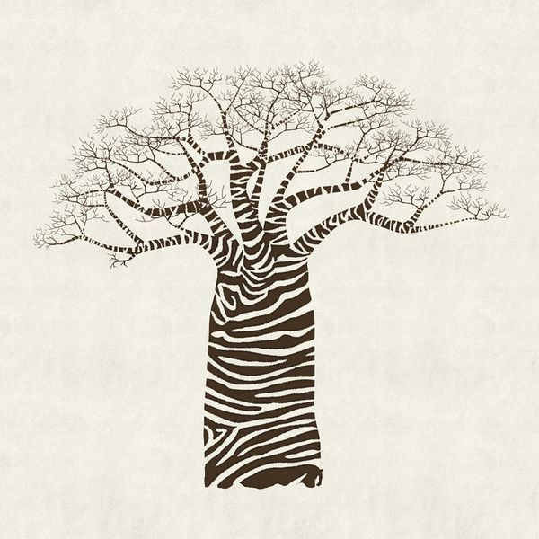 how to draw a baobab tree