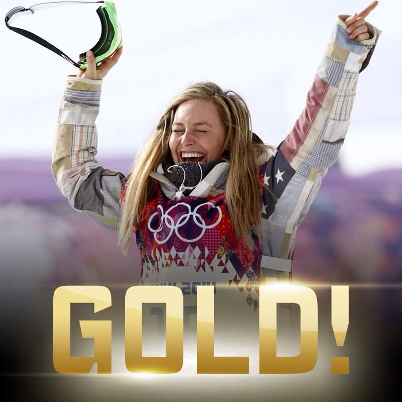 The first woman to ever win Olympic gold in snowboard ...