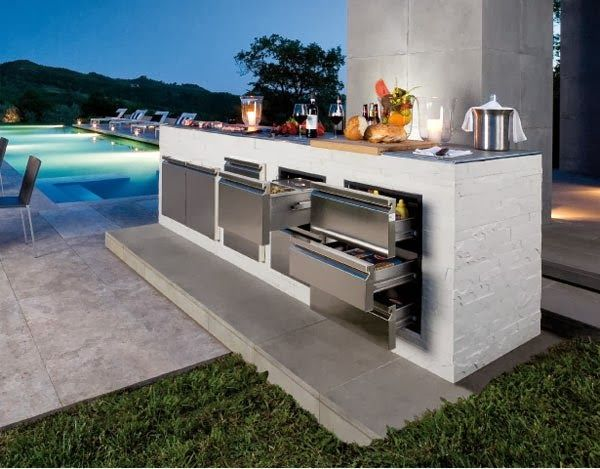 Contemporary Outdoor Kitchen Grill Google Search Outdoor