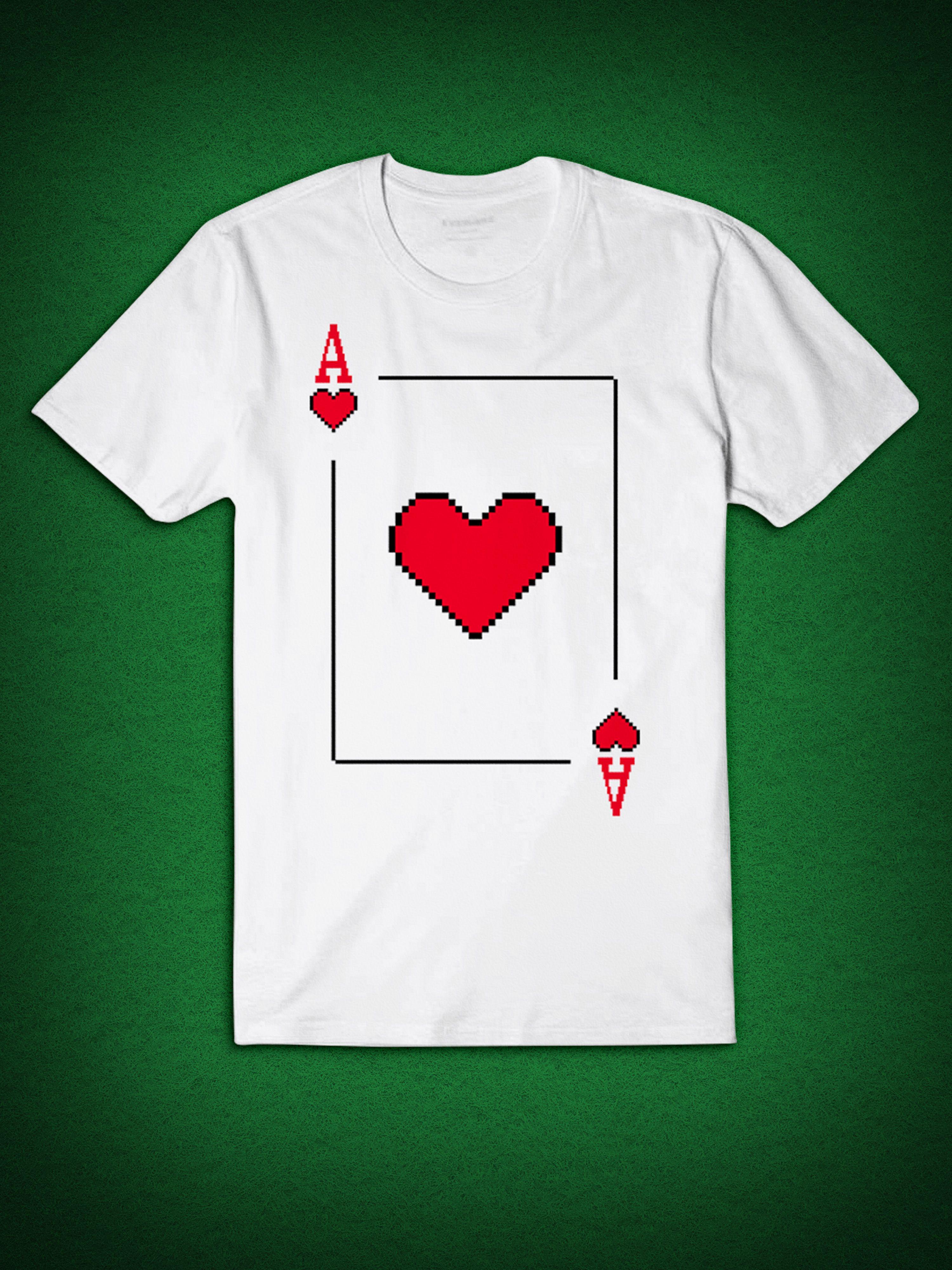 Pixel Ace of Spades Deck Playing Cards Poker Blackjack