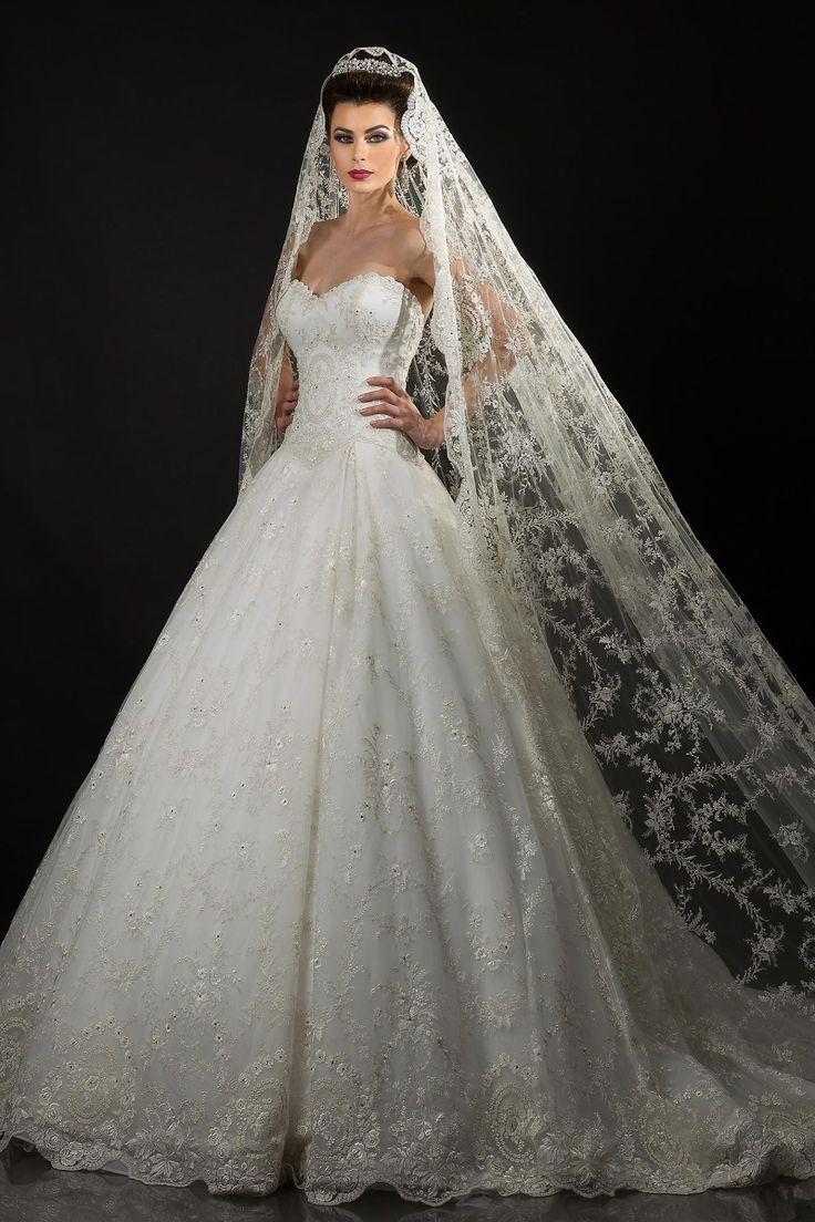 Pretty Wedding Dresses Designer Ellie Saab Monique Lhuillier 2017