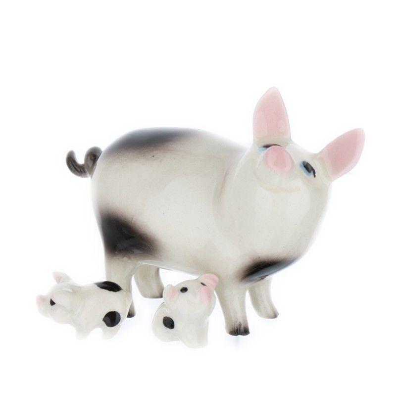 Hagen Renaker Papa Pig