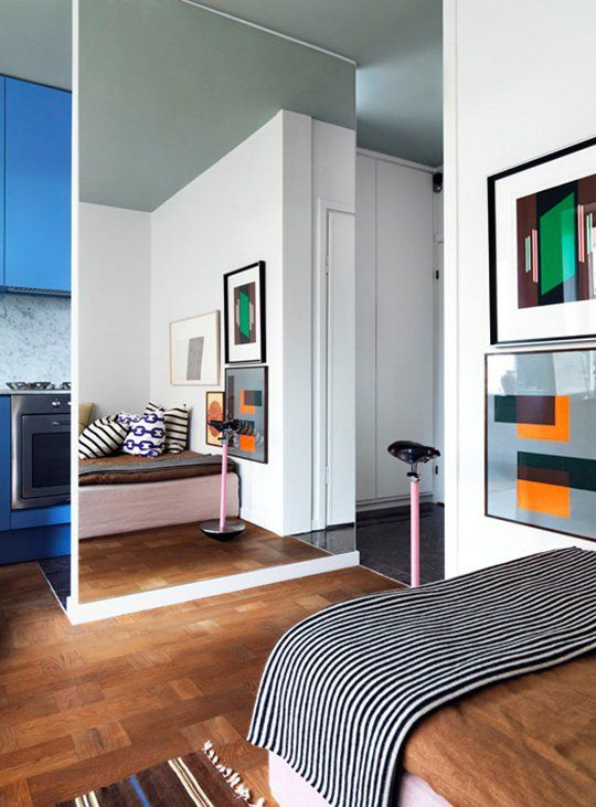 10 Ideas For Dividing Small Spaces Small Room Design Small