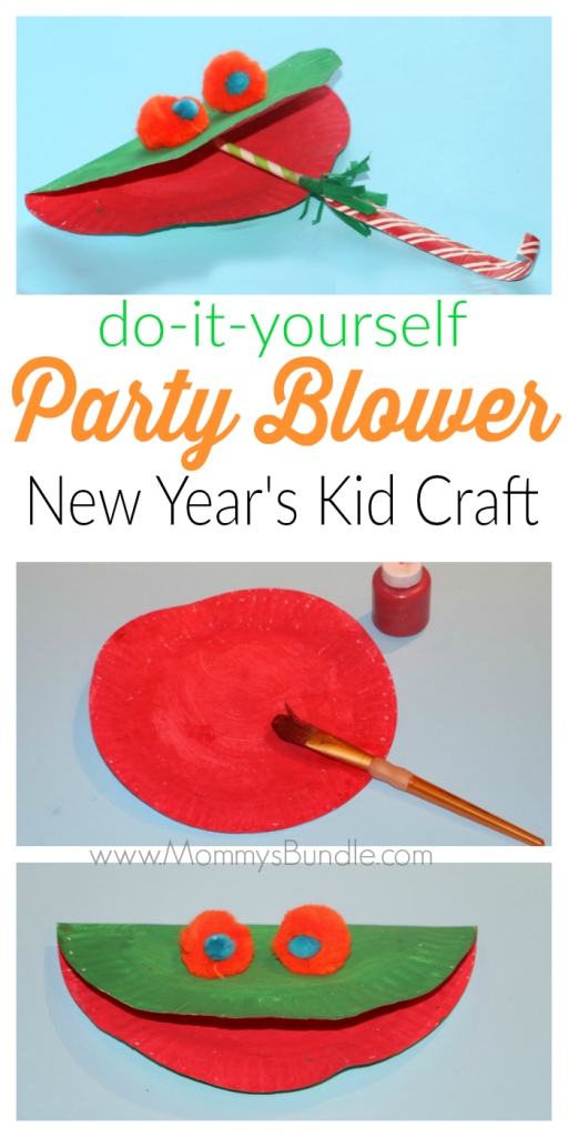Diy Party Blower Craft For Kids Mommy S Bundle Diy Party Blower Party Blowers Diy Crafts For Kids Easy