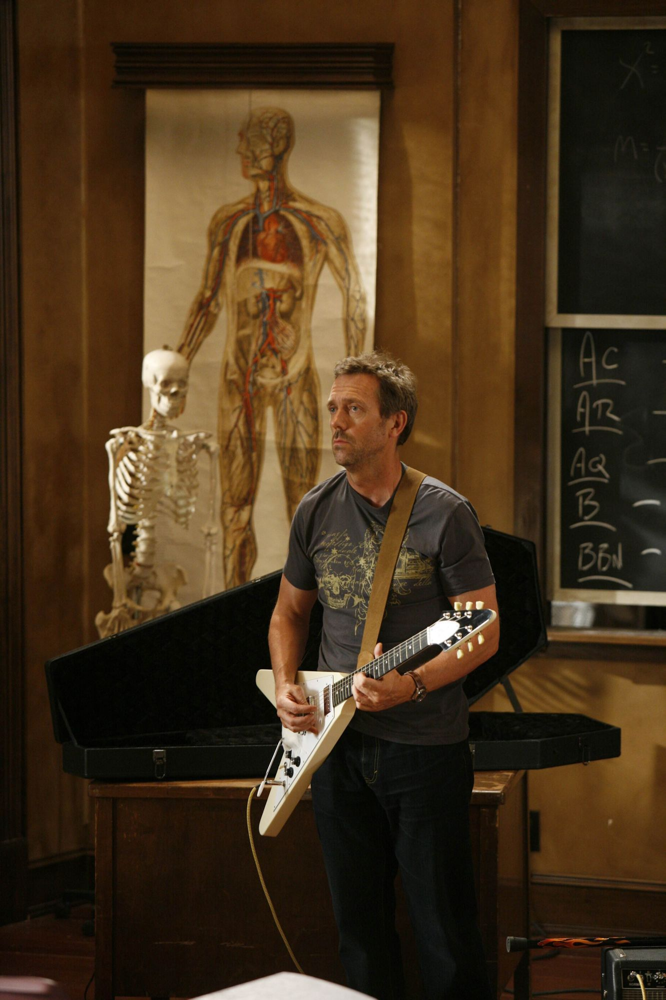 Hugh Laurie Gregory House, M.D. Powered By Gibson 3