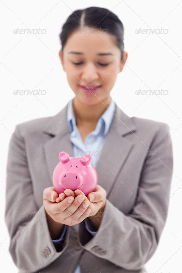 Portrait of a young businesswoman holding a piggy bank ...  20-24 years, Bank Notes, One Person, Young Women, attractive, background, bank, banking, beautiful, bills, business, businesswoman, cash, cheerful, close-up, copy space, economy, expression, finance, financial, happy, hold, holding, indoors, inside, interior, investment, isolated, joyful, leadership, mixed-race person, money, piggy bank, presenting, save, savings, showing, smiling, wealth, white