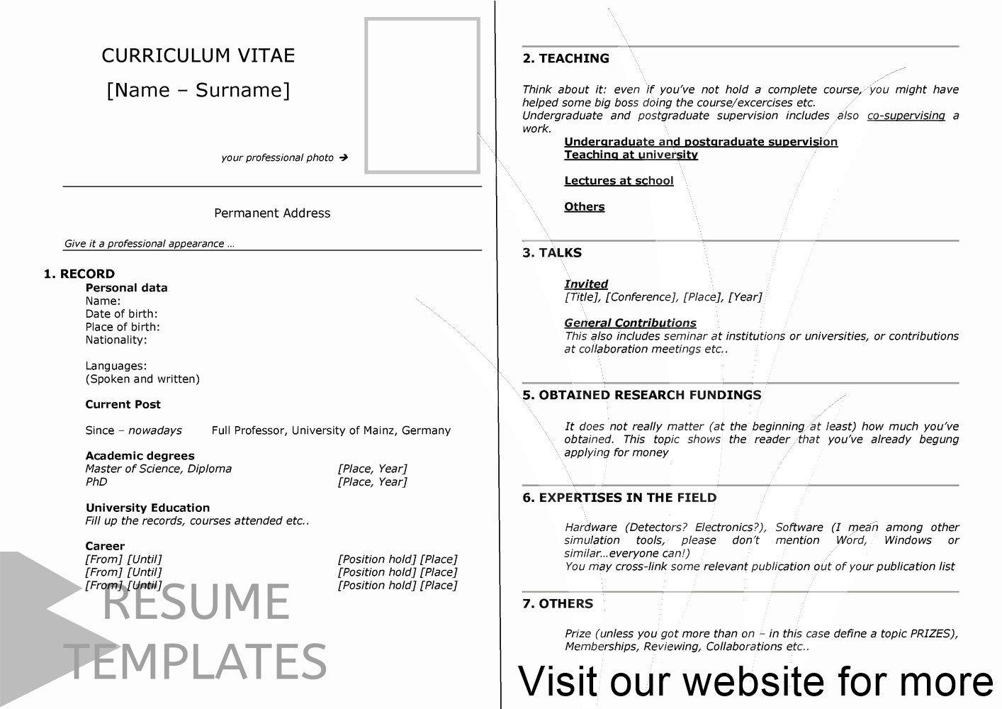 nursing resume template free in 2020 Resume template