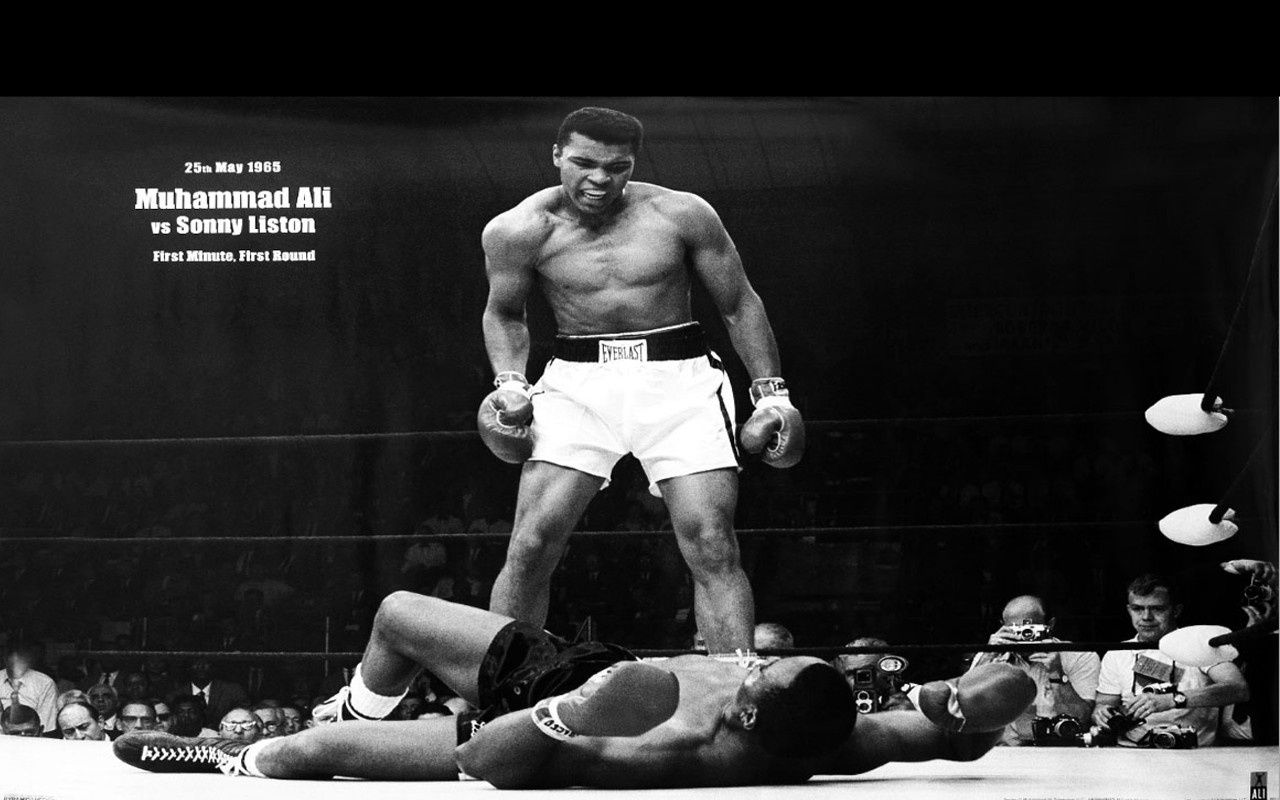 Wallpapers View Description Muhammad Ali Vs Sonny Liston Free