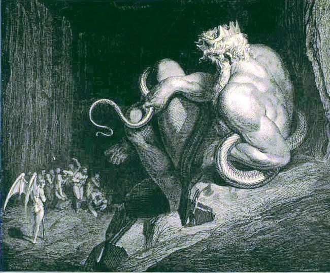 Gustave Doré's Hauntingly Beautiful Illustrations for Dante's Inferno | Brain Pickings