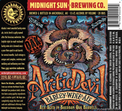 Midnight Sun - Oak Aged Arctic Devil Barleywine
