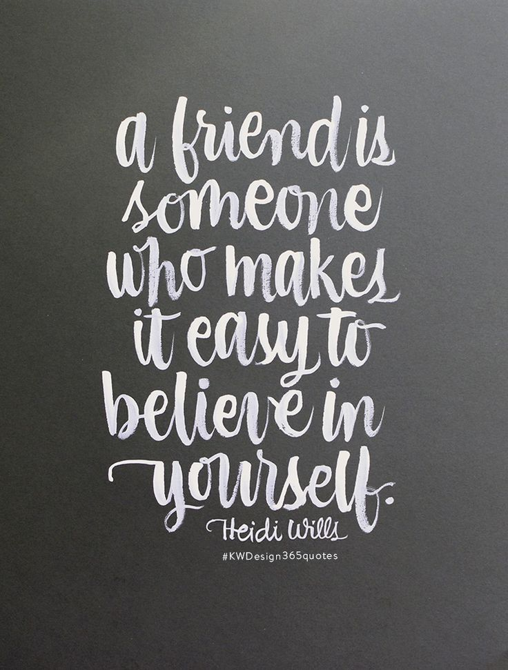 Thanks For Being A True Friend!